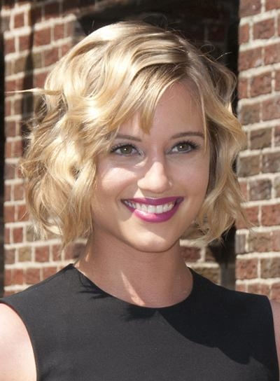 Dianna Agron – Beauty Riot Intended For Most Recently Released Dianna Agron Bob Hairstyles (View 14 of 15)