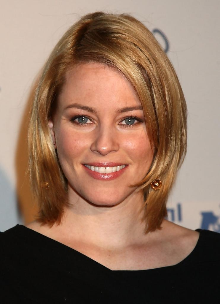 Featured Photo of Elizabeth Banks Shoulder Length Bob Hairstyles