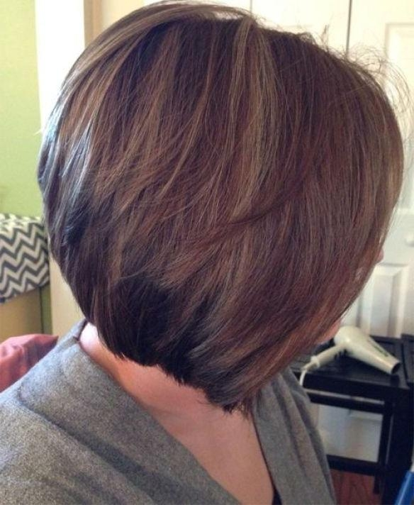 Famous Cute Inverted Bob Hairstyles For Fine Hair With Regard To Best 25+ Stacked Inverted Bob Ideas On Pinterest (View 7 of 15)