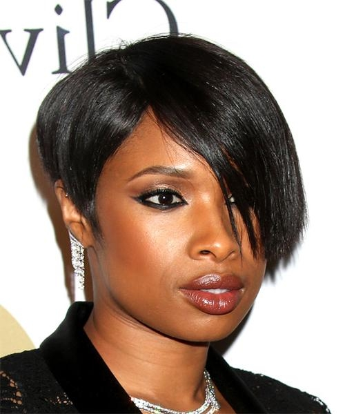 Famous Jennifer Hudson Bob Hairstyles Throughout Jennifer Hudson Hairstyles For  (View 4 of 15)