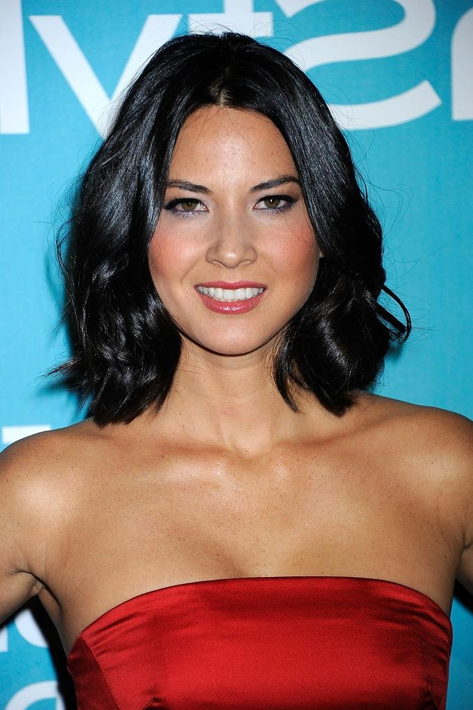 Famous Olivia Munn Shoulder Length Bob Hairstyles For Olivia Munn Shoulder Length Hairstyles – Olivia Munn Hair (View 4 of 15)