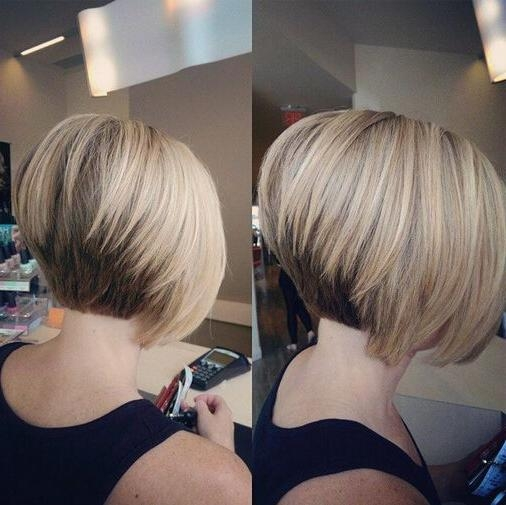 Famous Short Stacked Bob Hairstyles For Best 25 Bobs Ideas On Pinterest Gallery