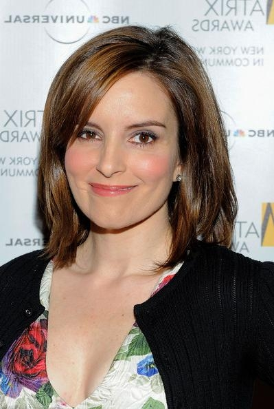 Famous Tina Fey Shoulder Length Bob Hairstyles Inside Tina Fey Mid Length Bob – Tina Fey Shoulder Length Hairstyles (View 5 of 15)