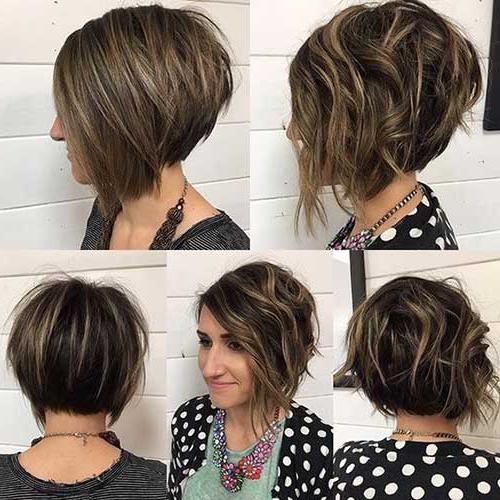 Fashionable Stacked Bob Haircuts Inside Best Short Stacked Bob (View 6 of 15)