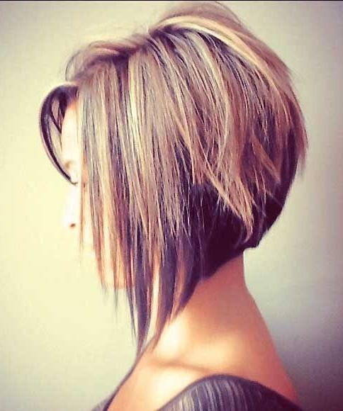 Fashionable Stacked Inverted Bob Hairstyles Inside 18 Super Hot Stacked Bob Haircuts: Short Hairstyles For Women  (View 10 of 15)