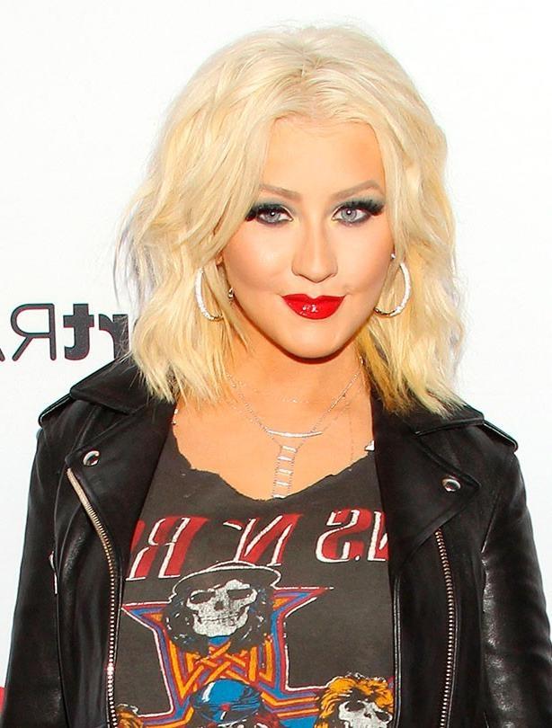 Favorite Christina Aguilera Shoulder Length Bob Hairstyles In Best Bob Hairstyles – Christina Aguilera – Goodtoknow (View 14 of 15)