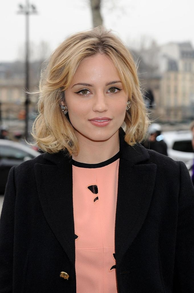 Favorite Dianna Agron Bob Hairstyles Within Dianna Agron Hair – Stylebistro (View 7 of 15)