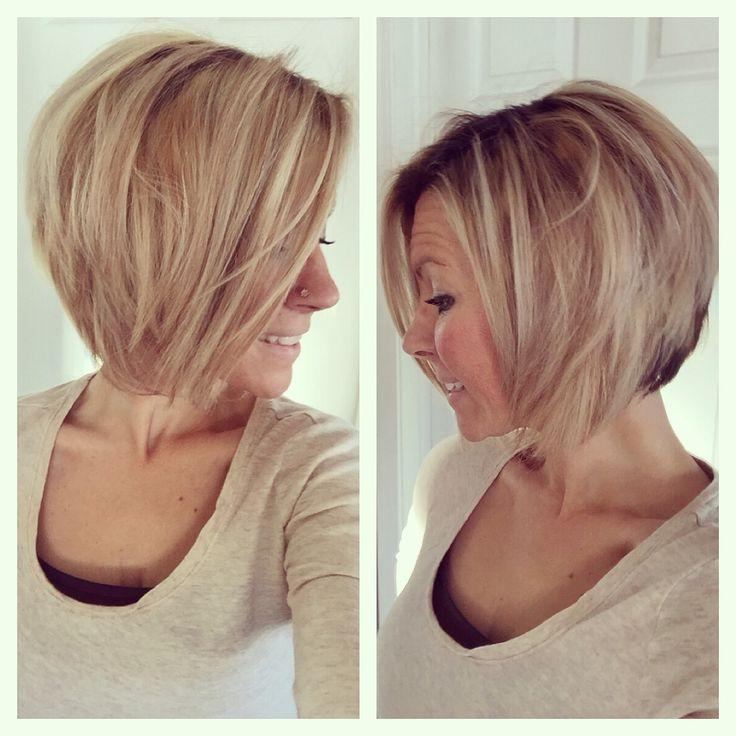 Favorite Medium Angled Bob Hairstyles Intended For Best 25+ Medium Angled Bobs Ideas On Pinterest (View 4 of 15)