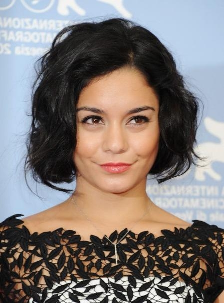 Featured Photo of Vanessa Hudgens Bob Hairstyles