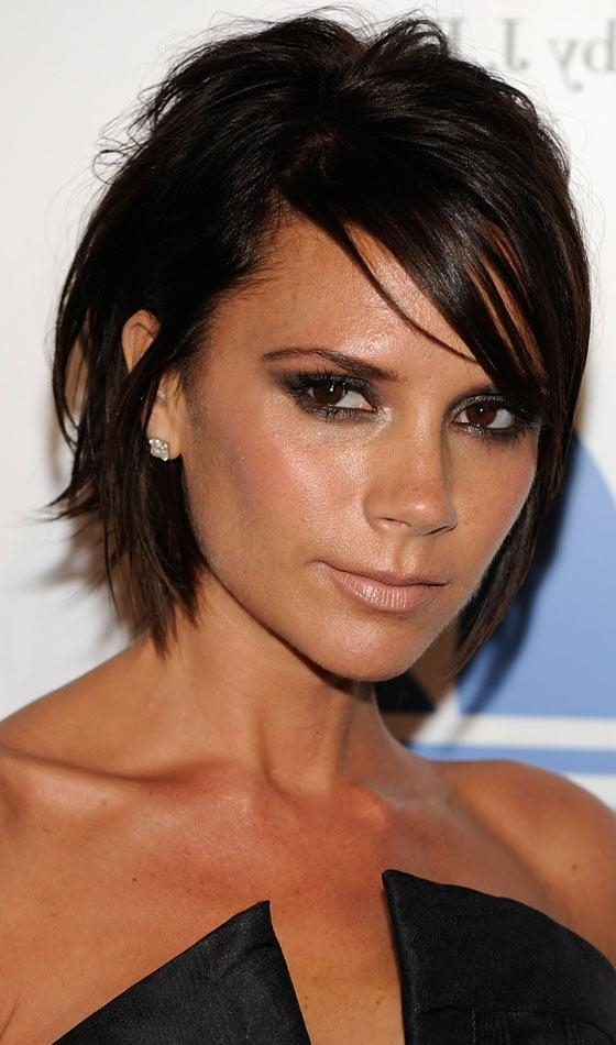Favorite Victoria Beckham Graduated Choppy Bob Hairstyles With Regard To 10 Sexy Victoria Beckham's Bob Hairstyles (View 7 of 15)