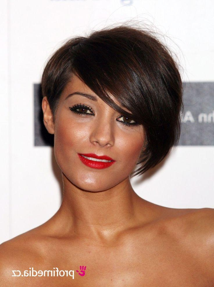 Frankie Intended For Most Up To Date Frankie Sandford Cute Feather Pixie Bob Hairstyles (View 9 of 15)