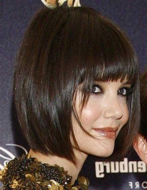Good Katie Holmes Bob Haircuts (View 7 of 15)