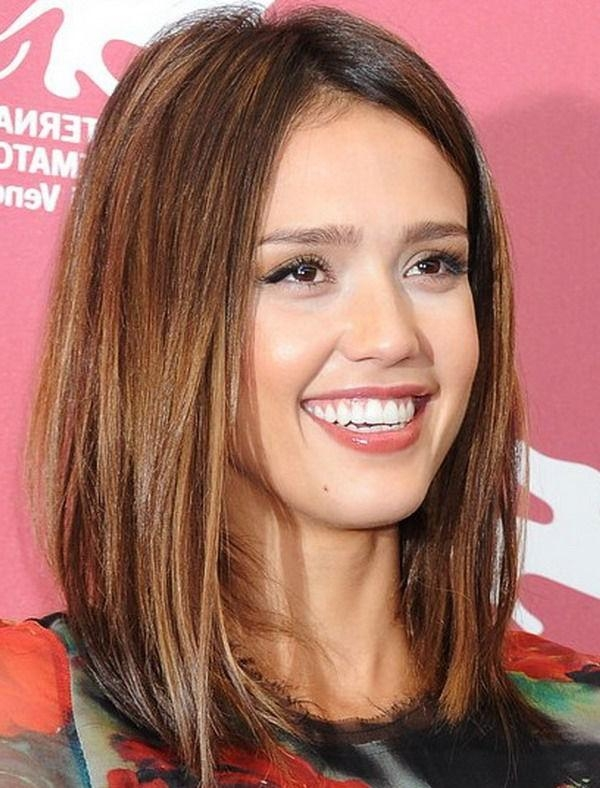 Hairstyle, Jessica Alba And Hair Throughout Favorite Judy Greer Shoulder Length Bob Hairstyles (View 6 of 15)