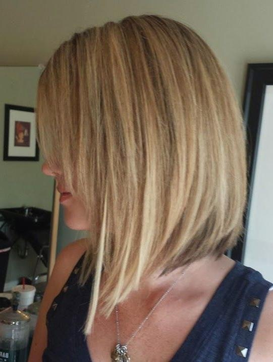 Featured Photo of Medium Length Inverted Bob Hairstyles For Fine Hair