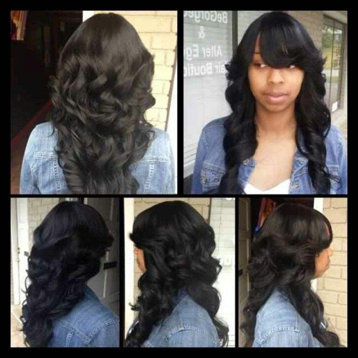 Hairstyles For Long Sew In Hair – Hairstyle Foк Women & Man For Quick Weave Long Hairstyles (View 11 of 15)