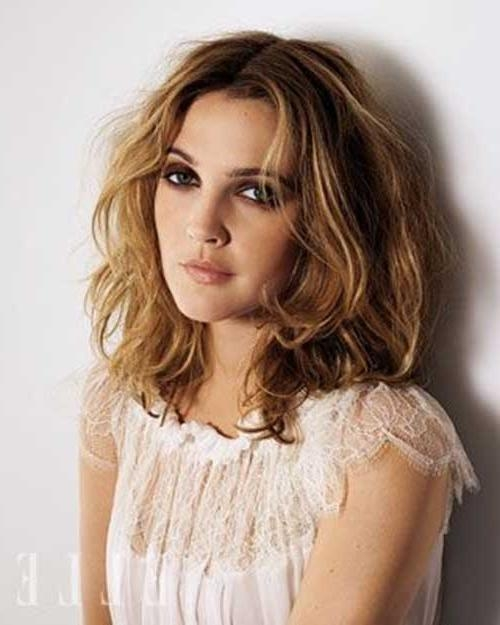Hairstyles & Haircuts Within Most Up To Date Drew Barrymore Shoulder Length Bob Hairstyles (View 9 of 15)