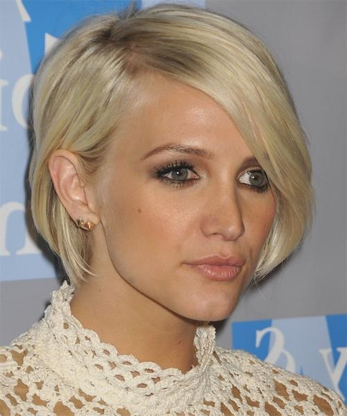 Hairstyles Pictures In Popular Ashlee Simpson Graduated Bob Hairstyles (View 11 of 15)