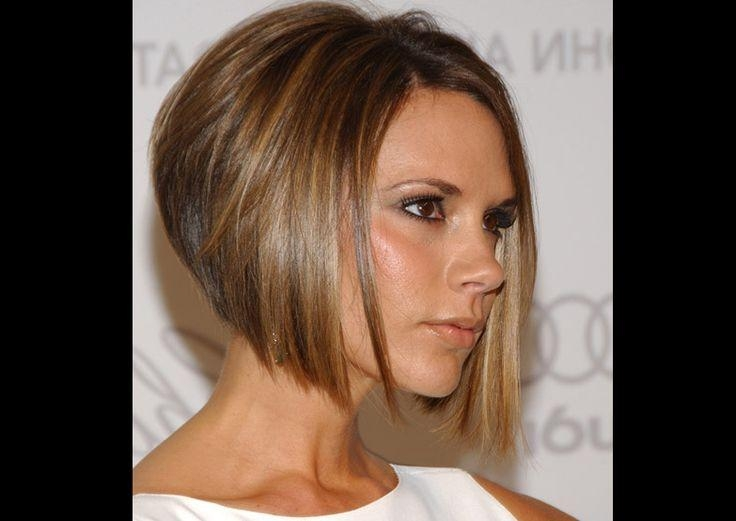 Hairstyles, Short Hair And Within Favorite Victoria Beckham Graduated Choppy Bob Hairstyles (View 8 of 15)