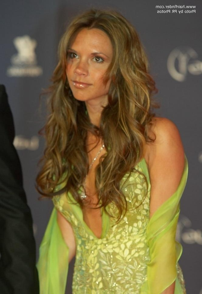 How To Achieve Victoria Beckham's Long Soft Curls Regarding Victoria Beckham Long Hairstyles (View 6 of 15)