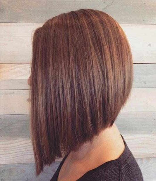 Inverted Bob For Widely Used Long Inverted Bob Haircuts (View 5 of 15)