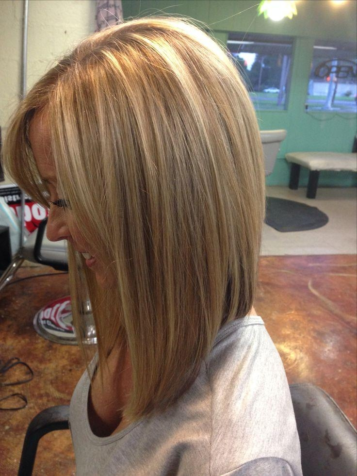 Inverted Bob Inside Famous Medium Length Inverted Bob Hairstyles For Fine Hair (View 11 of 15)