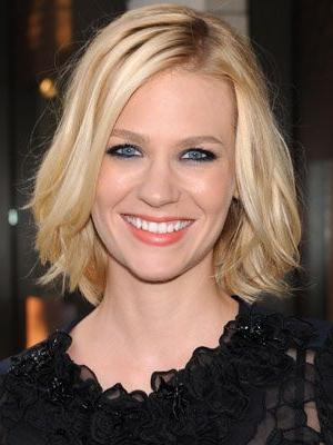 January Jones For Most Recent January Jones Shoulder Length Bob Hairstyles (View 9 of 15)