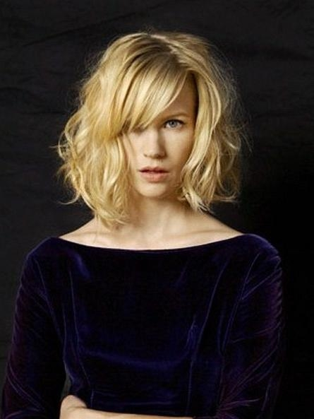 January Jones Intended For Recent January Jones Shoulder Length Bob Hairstyles (View 10 of 15)