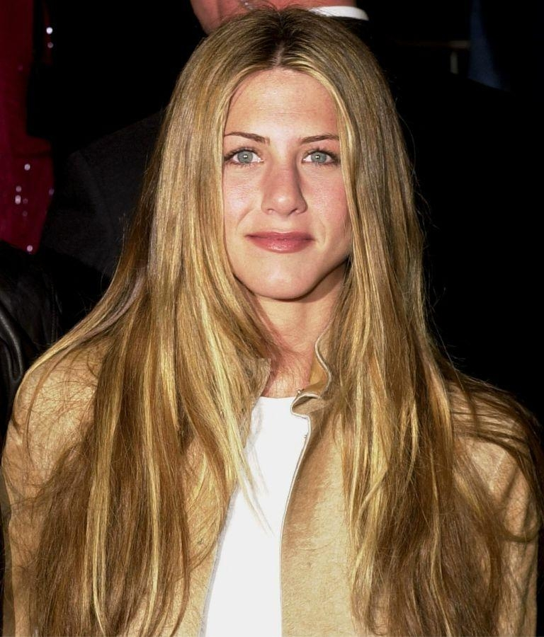 Jennifer Aniston's Best Hairstyles Over The Years Pertaining To Jennifer Aniston Long Hairstyles (View 2 of 15)