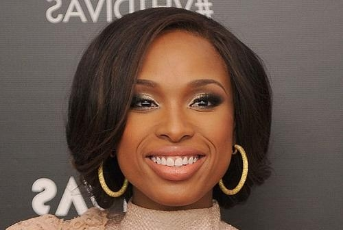 Jennifer Hudson Best Celebrity Bob Hairstyles – New Hairstyles Throughout Popular Jennifer Hudson Bob Hairstyles (View 7 of 15)