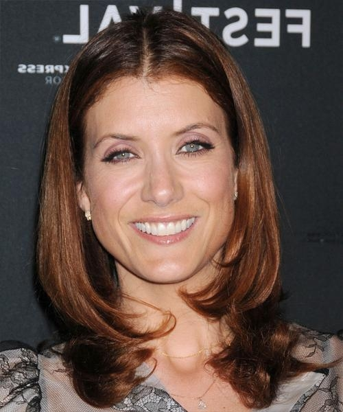 Kate Walsh Medium Straight Formal Hairstyle – Dark Red Hair Color With Regard To Recent Kate Walsh Shoulder Length Bob Haircuts (Gallery 9 of 15)