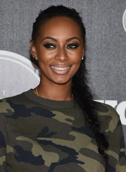 Keri Hilson Long Braided Hairstyle – Keri Hilson Looks – Stylebistro Pertaining To Keri Hilson Long Hairstyles (Gallery 3 of 15)