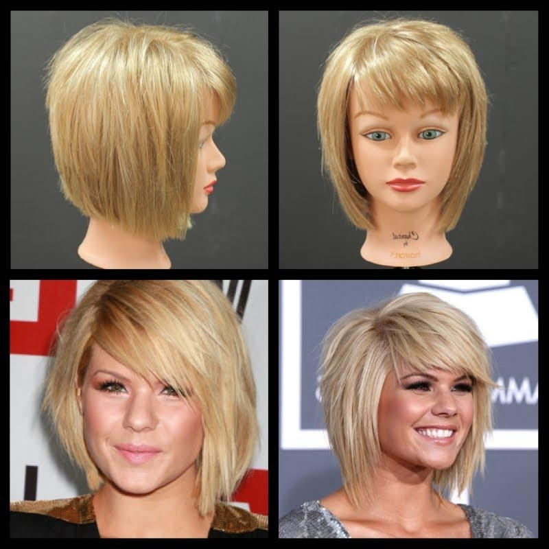 Kimberly Caldwell Haircut – Medium Length Shag Bob Tutorial Within Latest Kimberly Caldwell Shoulder Length Bob Hairstyles (View 3 of 15)