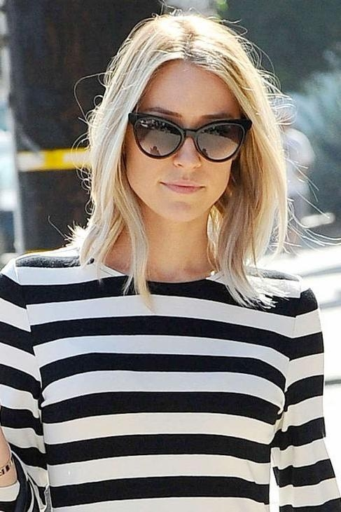 Kristin Inside Recent Kristin Cavallari Shoulder Length Bob Hairstyles (Gallery 7 of 15)