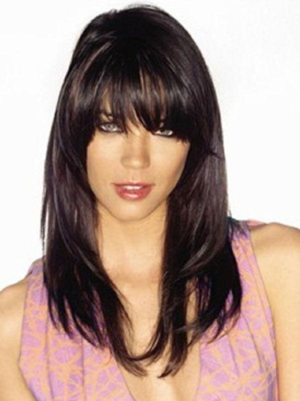 Latest Black Long Hairstyles With Bangs And Layers With Regard To The Best Long Hairstyles That Are Easy To Manage   Long Straight (View 4 of 15)