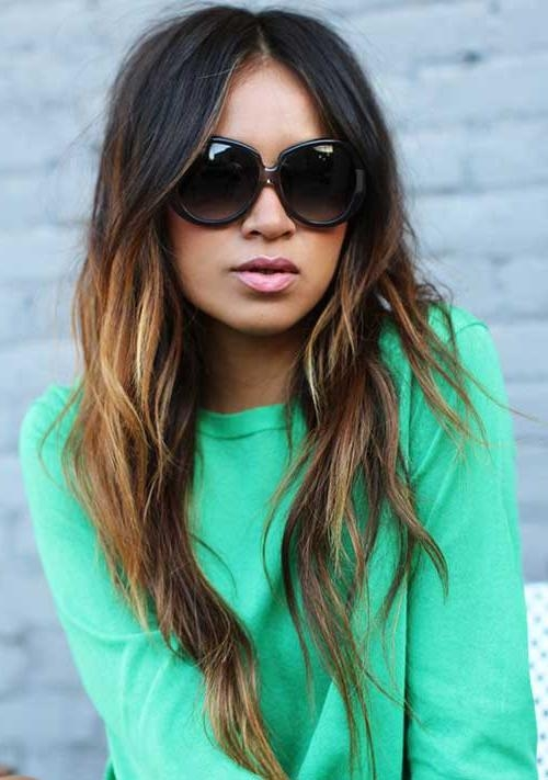 Latest Dark Long Hairstyles Pertaining To 100+ Best Haircuts For Women | Long Hairstyles 2017 & Long (View 14 of 15)