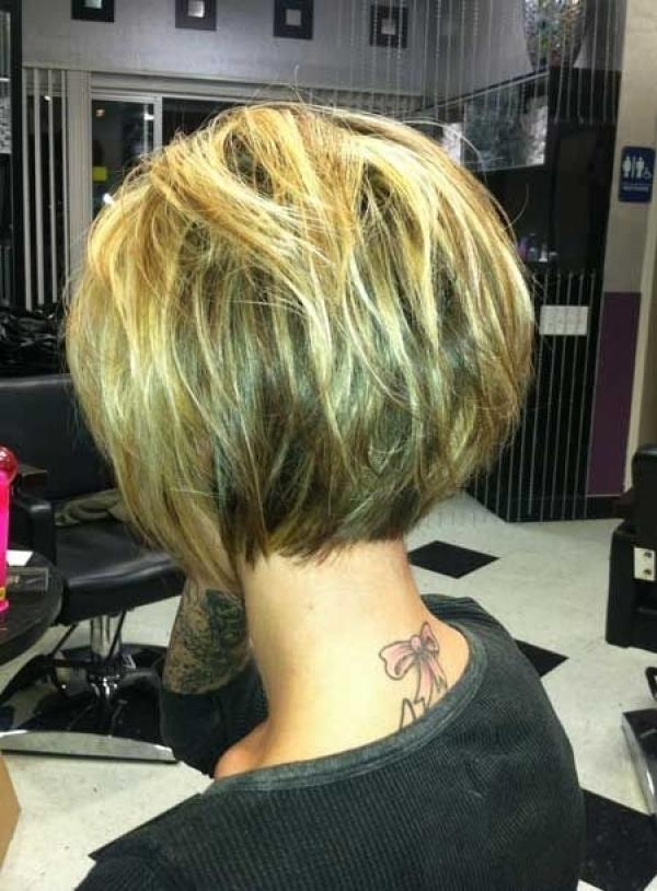 Photo Gallery Of Inverted Bob Haircut Back View Viewing 14 Of 15