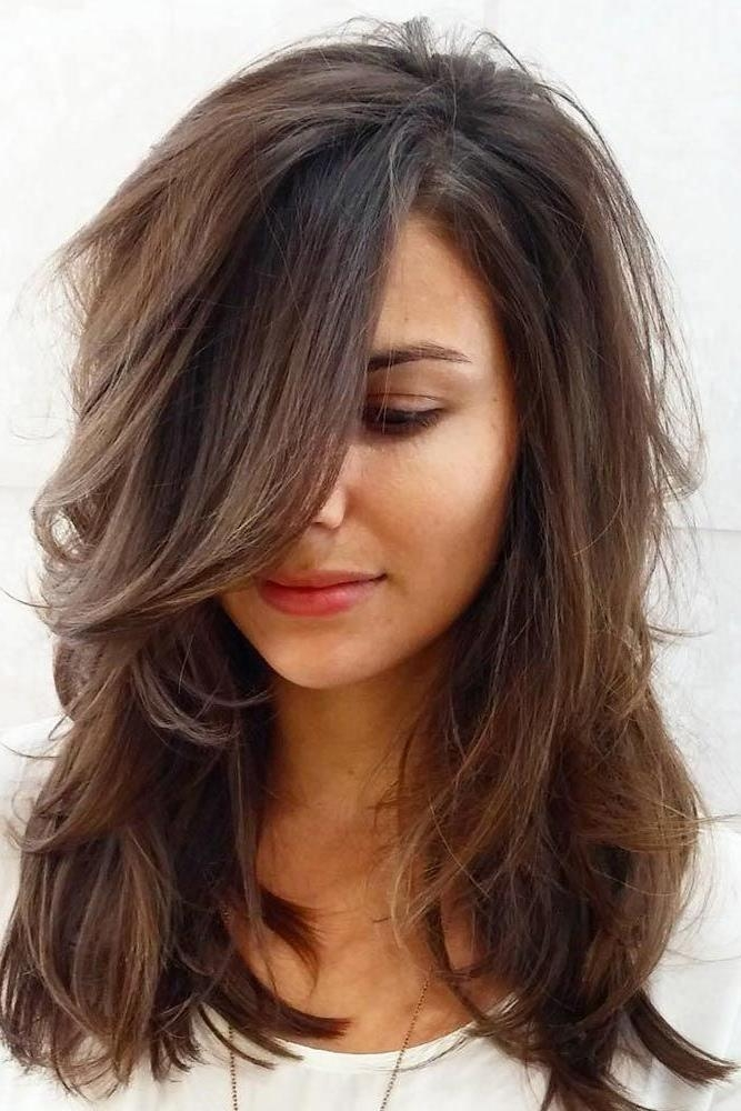 Latest Long Haircuts For Heart Shaped Faces In Best 25+ Heart Shaped Face Haircuts Ideas On Pinterest | Heart (Gallery 2 of 15)