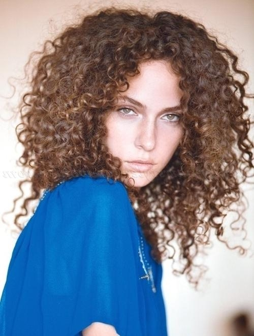 Latest Long Hairstyles For Naturally Curly Hair With Natural Curly Hairstyles – All Down Hairstyle For Natural Curly (View 12 of 15)