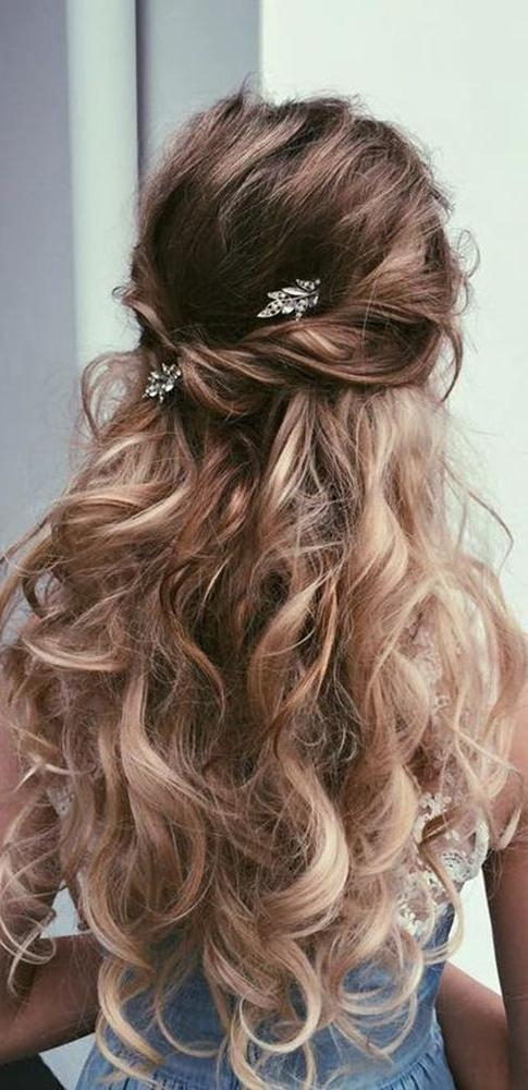 Latest Long Hairstyles For Wedding Party Intended For Best 25+ Wedding Hairstyles Ideas On Pinterest | Wedding Hairstyle (View 14 of 15)