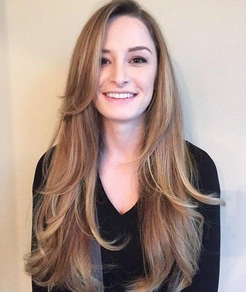 Latest Long Hairstyles With Long Side Bangs Inside Best 25+ Side Bangs Long  Hair Ideas