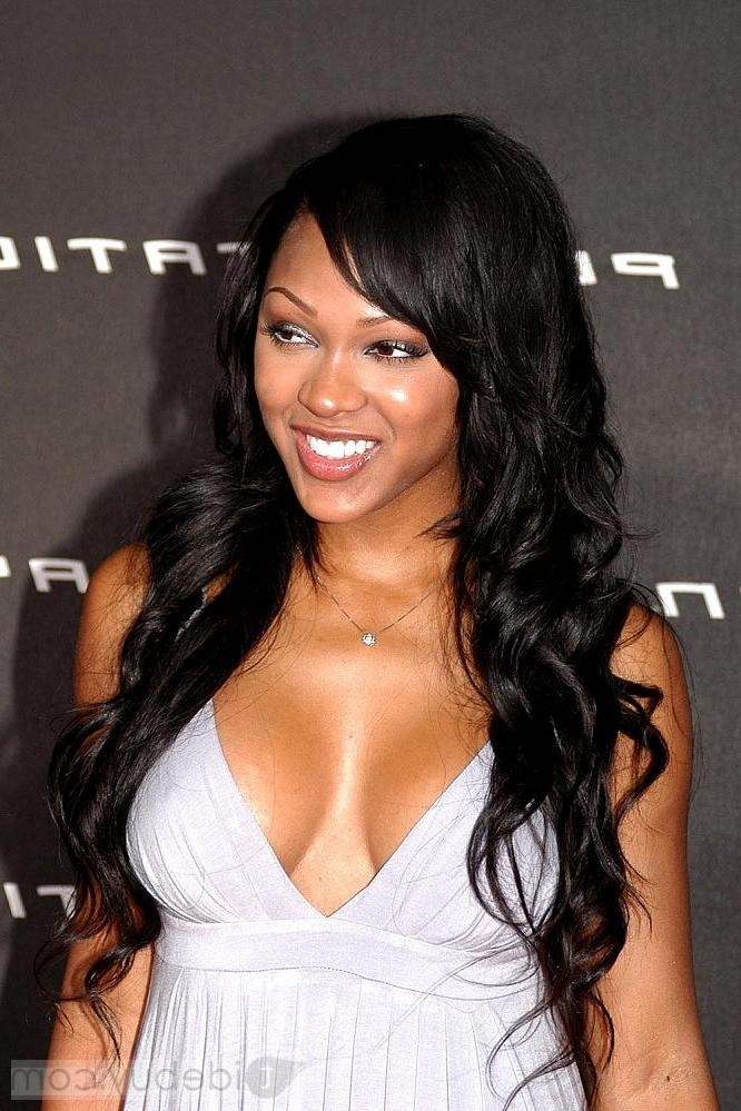 Latest Meagan Good Long Hairstyles With Meagan Good Dark Hair Long 2013 – Bakuland – Women & Man Fashion Blog (View 9 of 15)