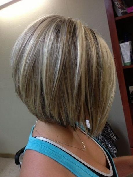 Latest Medium Length Inverted Bob Hairstyles For Fine Hair Regarding Best 25+ Stacked Bob Haircuts Ideas On Pinterest (View 14 of 15)