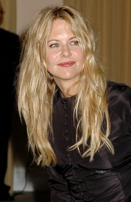 Latest Meg Ryan Long Hairstyles Intended For Meg Ryan Long Hair Meg Ryan Hairstyle Zimbio Meg Ryan Long Hairstyles (View 7 of 15)