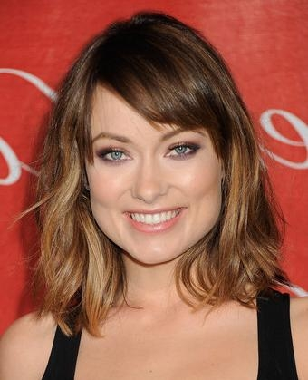 Latest Olivia Wilde Bob Hairstyles Intended For Wilde's New Textured Bob Haircut (View 3 of 15)