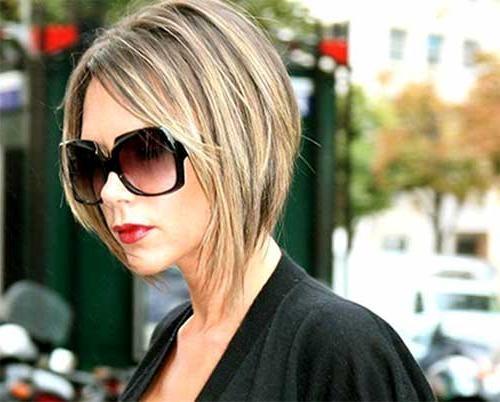 Latest Victoria Beckham Inverted Bob Hairstyles With 25 Best Victoria Beckham Bob Hairstyles (View 10 of 15)