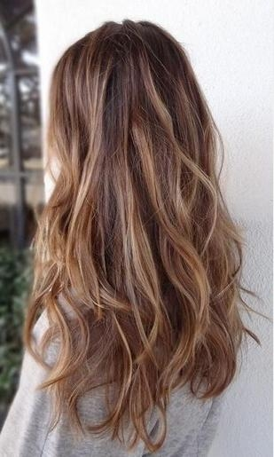 Long Brown Ombre Straight Hairstyle Within Ombre Long Hairstyles (View 9 of 15)