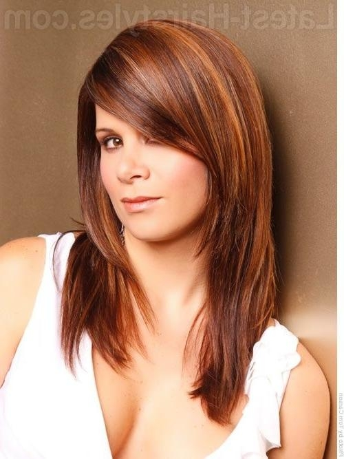 Long Layers, Dramatically Side Swept Bangs – 26 Hairstyles To… In Long Hairstyles With Side Swept Bangs And Layers (View 4 of 15)