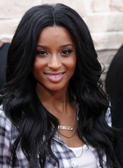 Long, Wavy, Black Hairstyles – Beauty Riot Pertaining To Ciara Long Hairstyles (View 13 of 15)