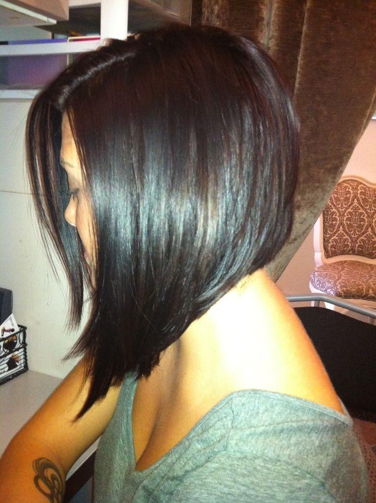 Longer Inverted In Best And Newest Long Inverted Bob Haircuts (View 10 of 15)