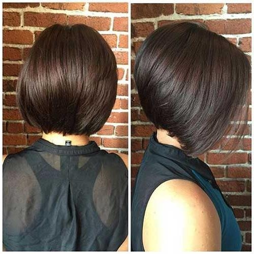 Medium Stacked Bobs With Most Current Stacked Bob Haircuts (View 10 of 15)